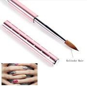 Best Acrylic Nail Brushes - 1PC Kolinsky Hair Pencil 2#6#8#10# Nail Art Acrylic Review