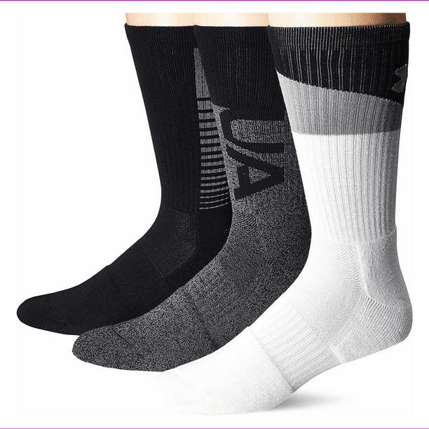 Under Armour womens Phenom Graphic Crew Socks 3-pairs Socks