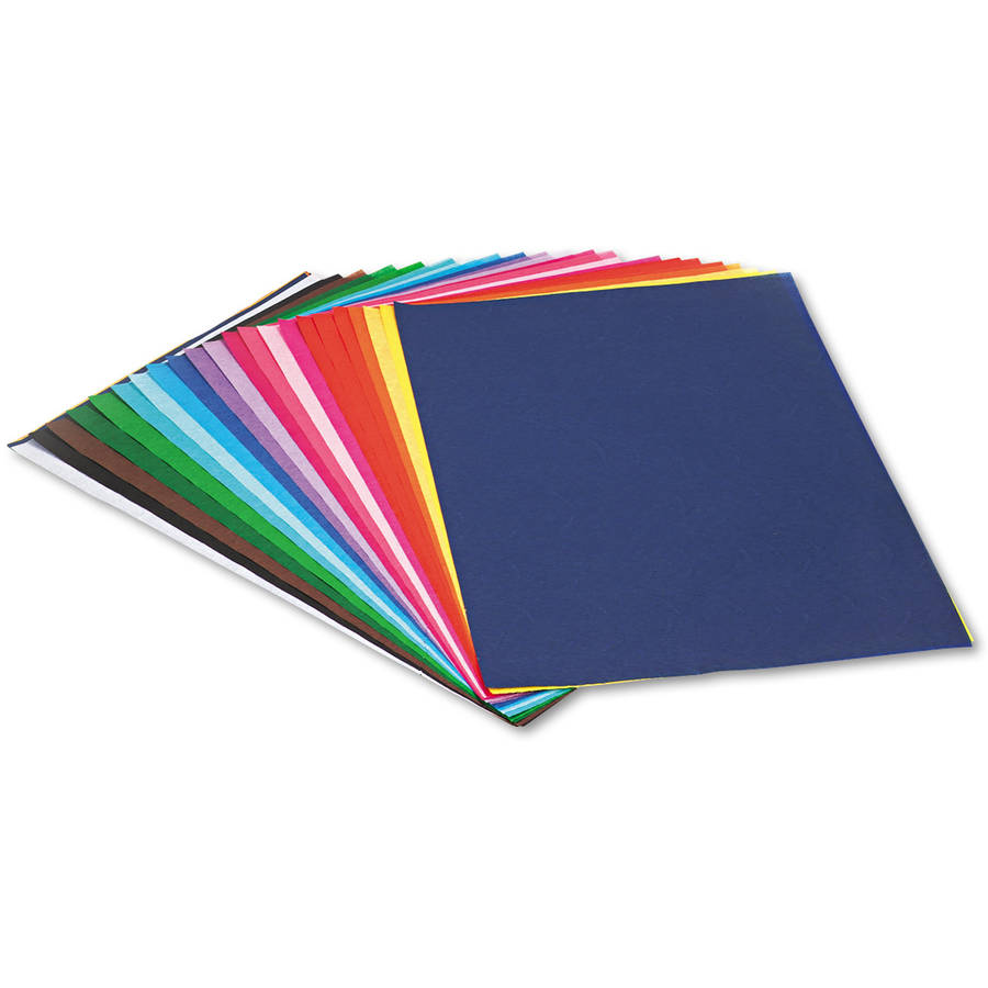 Pacon Spectra Art Tissue, 12 x 18, 25 Assorted Colors, 100 Sheets/Pack