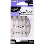 French Tip Pen Pearl White 61022 by nailene #9
