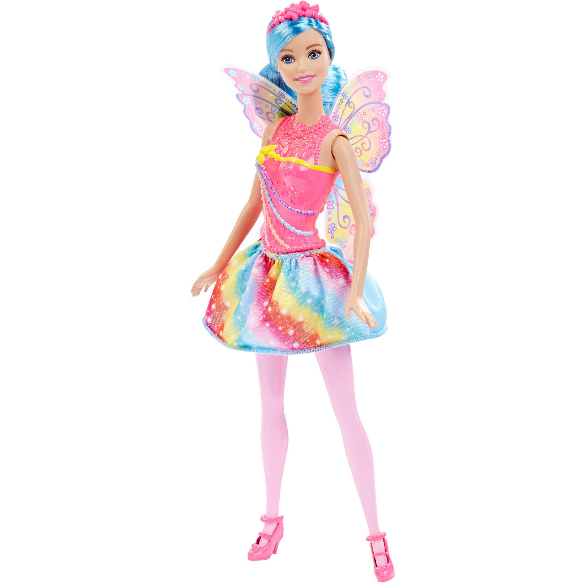 Barbie Fairy Rainbow Fashion Doll by Mattel