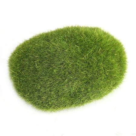 Qiilu 12Pcs Green Artificial Moss Stones Simulation Grass Bryophyte Bonsai Garden DIY Landscape Decor, Simulation Moss, Artificial Moss Stone - image 1 of 8
