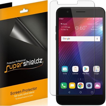 [6-Pack] Supershieldz for Phoenix Plus  Screen Protector, Anti-Bubble High Definition (HD) Clear - Phoenix Coyotes Shield
