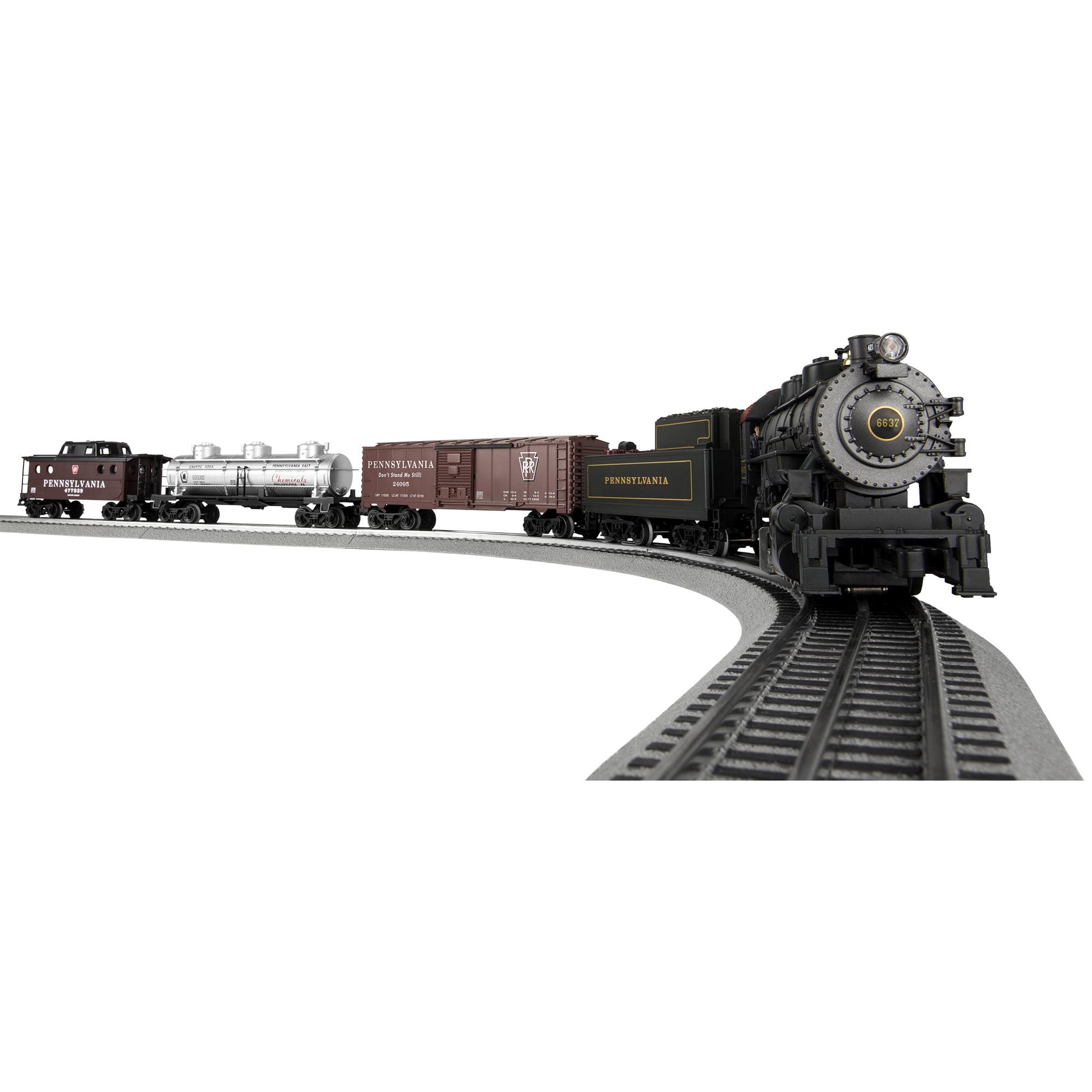 Lionel Trains PennSylvania Flyer Seasonal Freight LionChief Ready to Run Set w BlueTooth by Lionel Trains