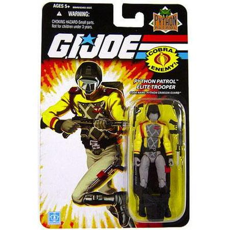 "GI Joe Wave 12 Python Crimson Guard 3.75"" Action Figure"