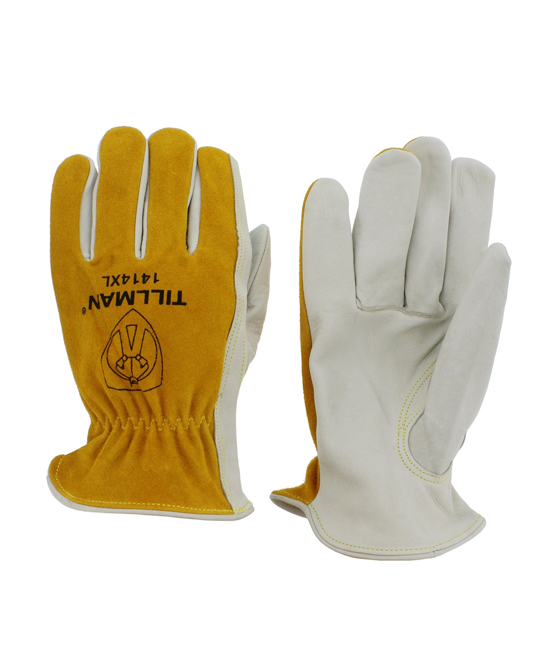 Tillman 1414 Top Grain//Split Cowhide Drivers Gloves X-Small