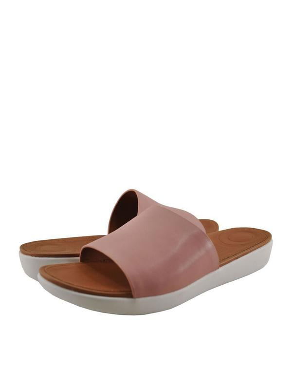 Fitflop Sola Women's Leather Slip On Slides M27-535