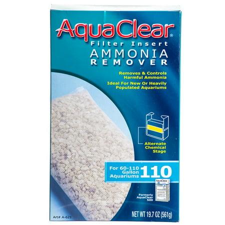 Hagen AquaClear Ammonia Remover Filter Inserts 110 / 500 Ammonia Rid (Hagen Fluval Ammonia Remover)
