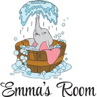 Personalized Name Vinyl Decal Sticker Custom Initial Wall Art Personalization Decor Baby Nursery Room Dumbo Flying Elephant Cartoon 12 Inches x 18 Inches