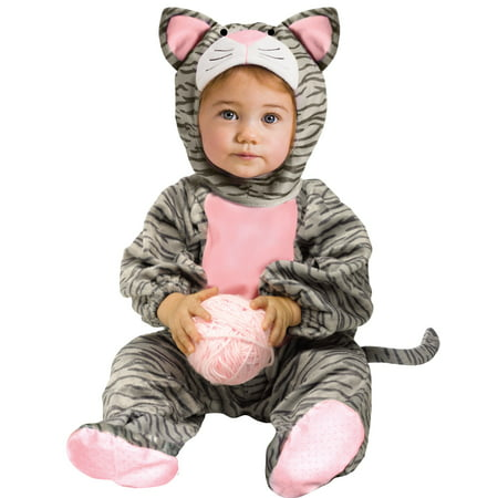 Infant Striped Kitten Costume by FunWorld 117041](Halloween Kitten Costumes)
