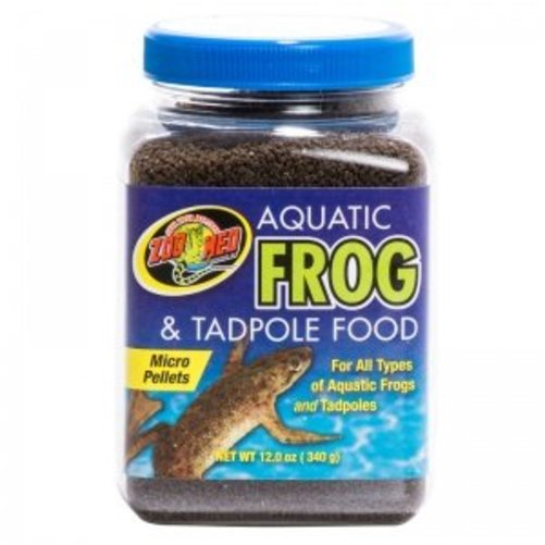 Zoo Med Aquatic Frog & Tadpole Food 12oz Multi-Colored by Zoo Med