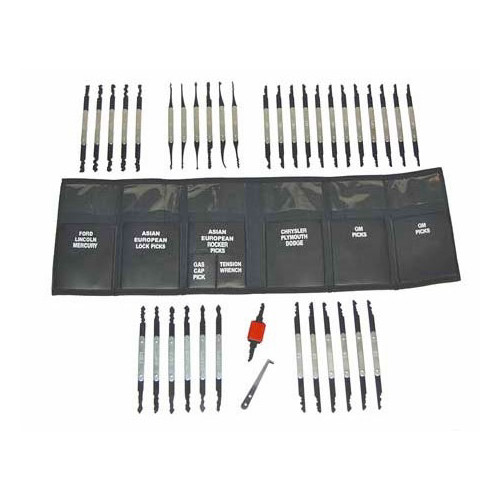 LTI Tools 620 37-Piece Grand Master Lock Pick Set