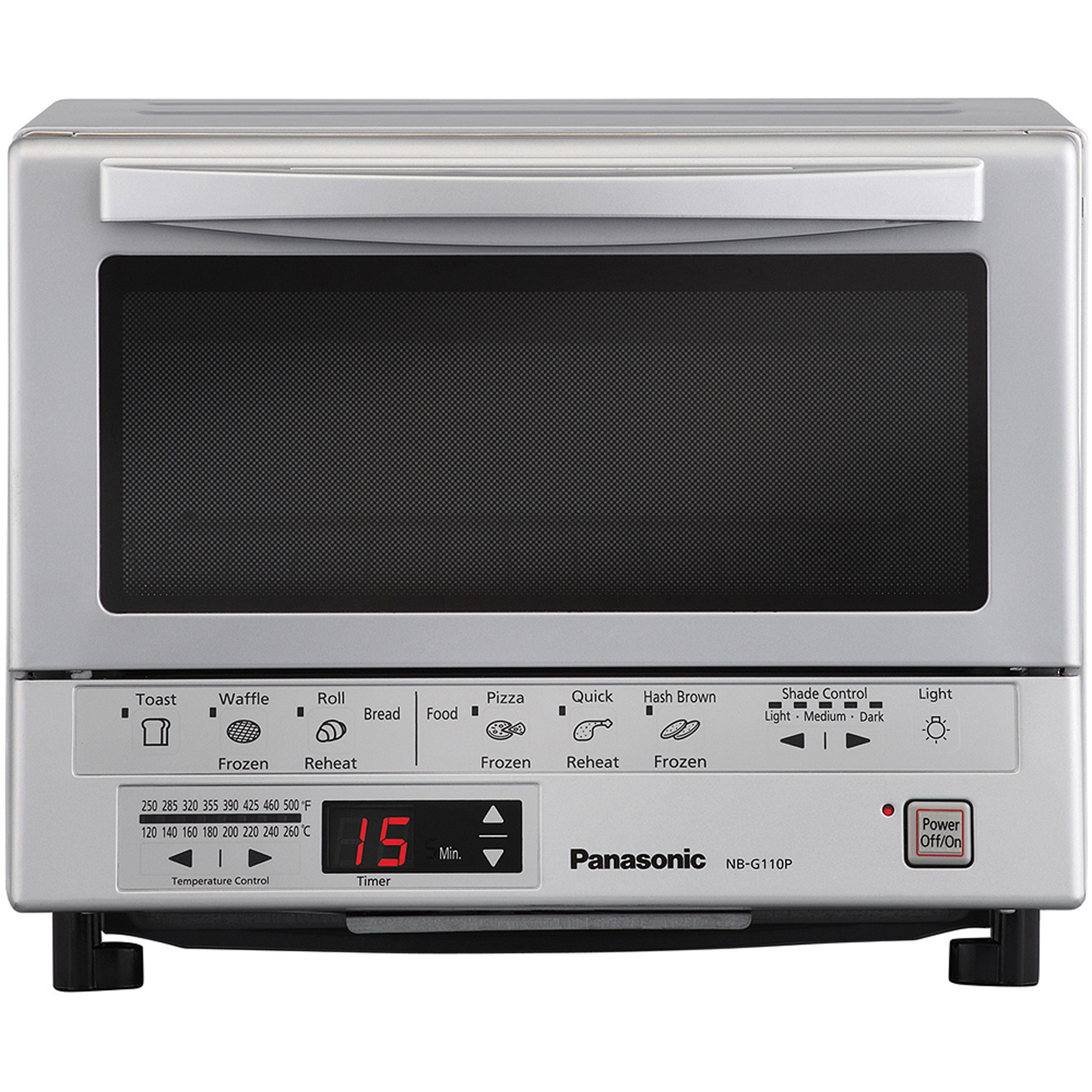 Panasonic FlashXpress Toaster Oven with Double Infrared Heating