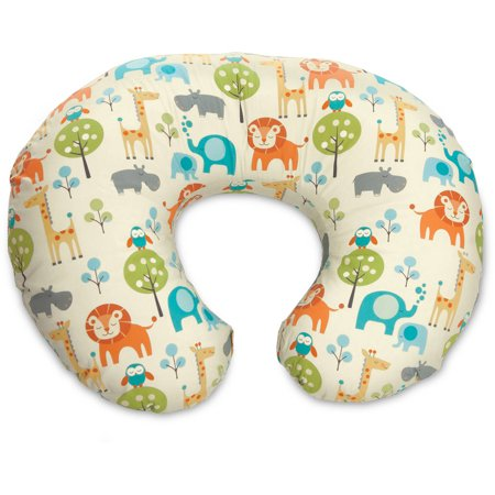 Original Boppy Nursing Pillow and Positioner, Peaceful Jungle