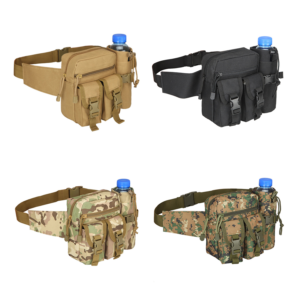Details about  /Outdoor Utility Tactical Belt Bag Waist Pack Pouch Military Camping Molle US