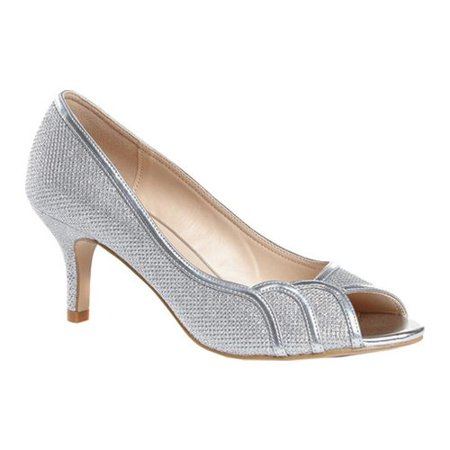 Women's Pink Paradox London Chester Open Toe Pump (Embellished Open Toe Pump)
