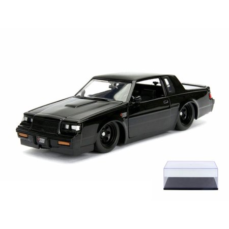 Diecast Car & Display Case Package - Buick Grand National, F8 The Fate and the Furious - Jada 99539/4 - 1/24 Scale Diecast Model Toy Car w/Display Case