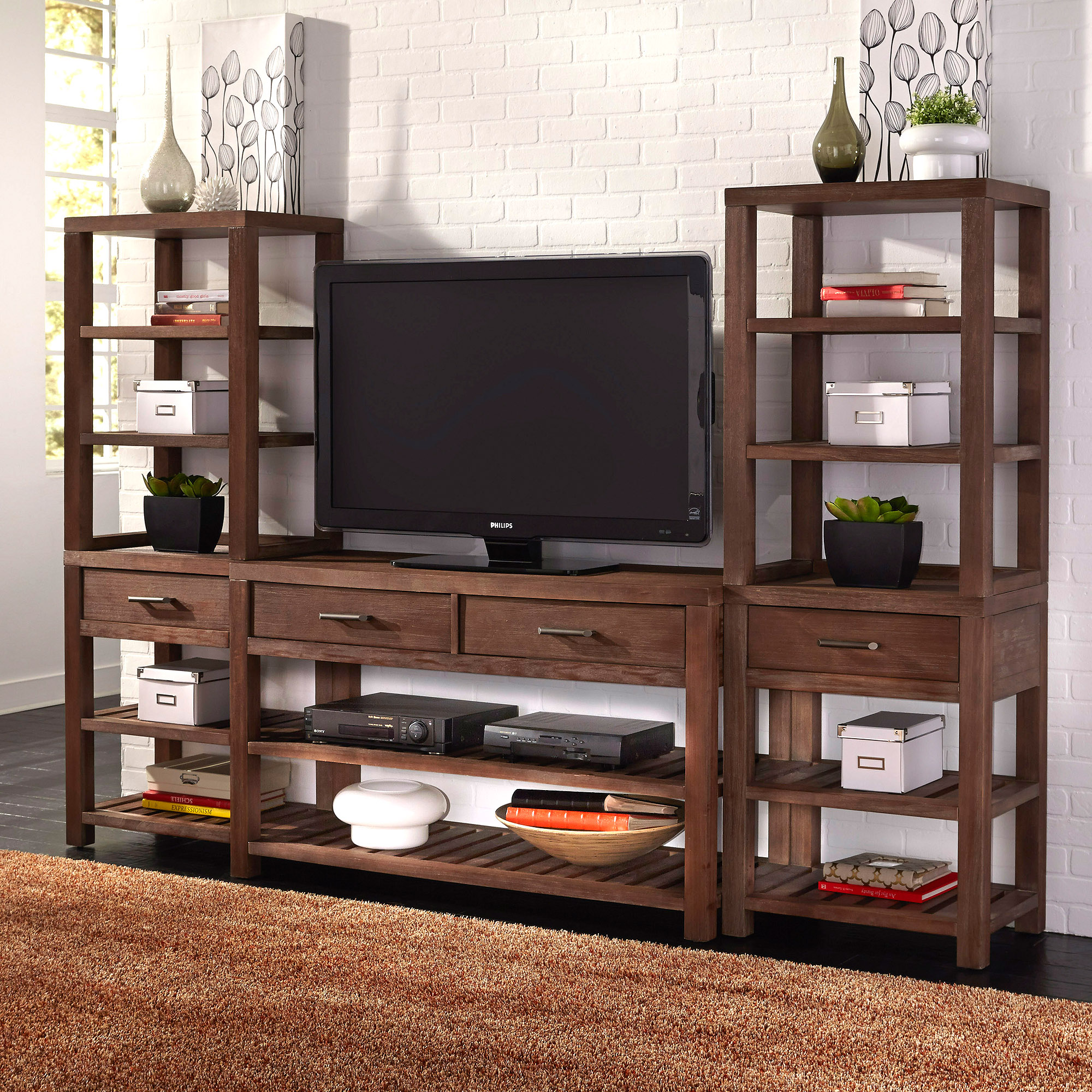 Barnside 3-Piece Entertainment Center