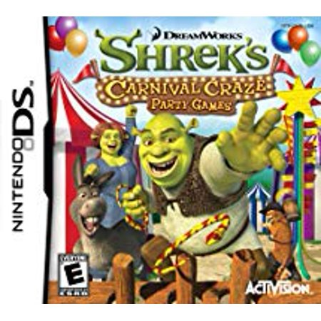 Shrek's Carnival Craze - Nintendo Ds (Refurbished)