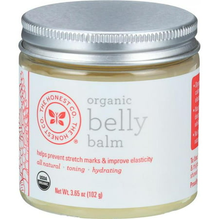 The Honest Hg1587849 3 65 Oz Organic Belly Balm Unscented