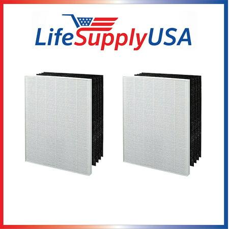 2 Pack Replacement Filter to fit Electrolux EL024 EL017 EL500 Carbon Air Cleaner