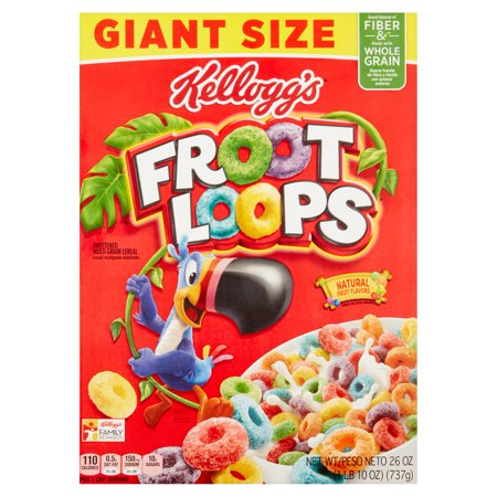 Froot Loops Breakfast Cereal - 26oz - Kelloggs