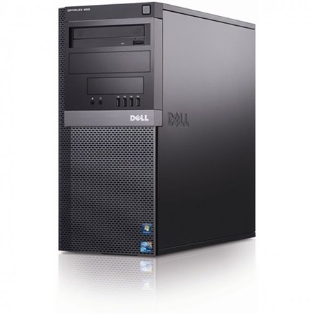 Dell Optiplex 980 Tower Computer - Intel Core i5 3.1 GHz CPU, 8GB DDR3 Memory, 1TB Hard Drive, WiFi, Windows 7 Professional 64-Bit - Refurbished - image 1 de 1