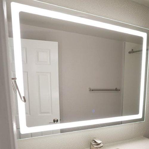 Dyconn Faucet Swan Bathroom Vanity Mirror Walmart Com