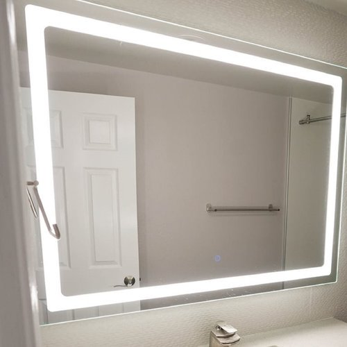 Dyconn Faucet Modern Contemporary Bathroom Vanity Mirror Walmart Com Walmart Com