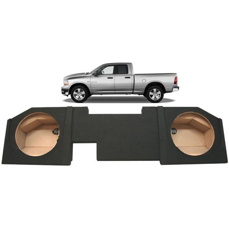2002-2015 Dodge Ram Quad Crew Cab Truck Custom Dual 12 Subwoofer Speaker Sub (Best Subwoofer For Dodge Ram Quad Cab)