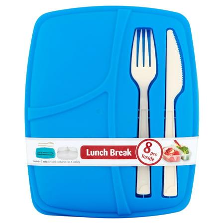 Frooshii Bramli Lunch Kit, - Metal Lunchbox