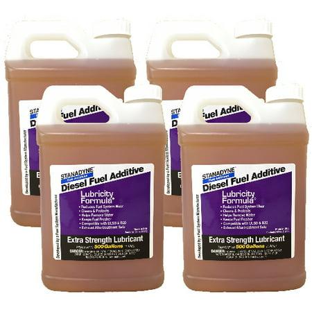 Stanadyne Lubricity Formula | 4 Pack of 1/2 Gallon (64oz) Jugs | Each Jug Treats 500 Gallons of Diesel Fuel | Part # 38561