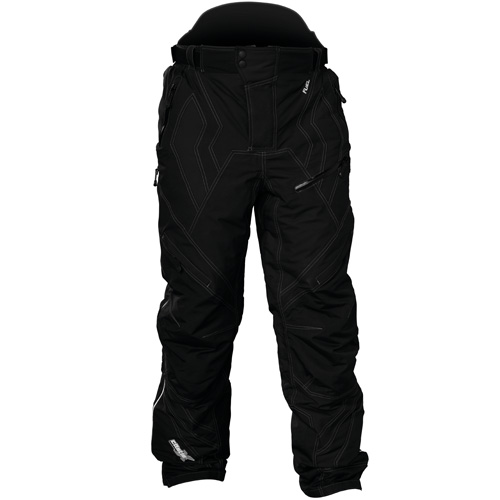 Castle X Racewear Fuel G4 Mens Snowmobile Pants/Bibs Black