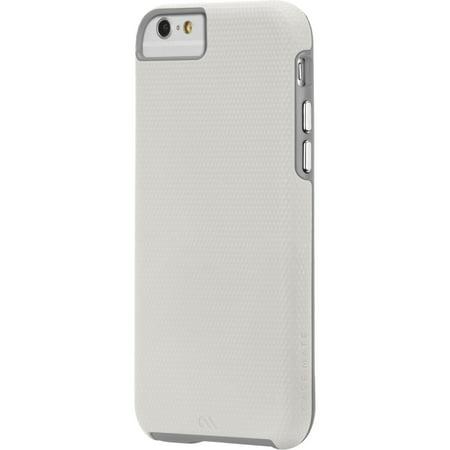 Case-mate Tough Case For Iphone 6 - Iphone 6 - White, Titanium - Textured - Metal (cm032170)