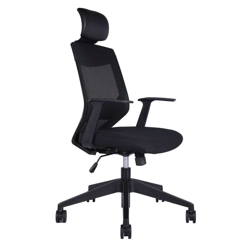 Radnor Rd81bk High Back Mesh Office Chair Adjustable Lumbar