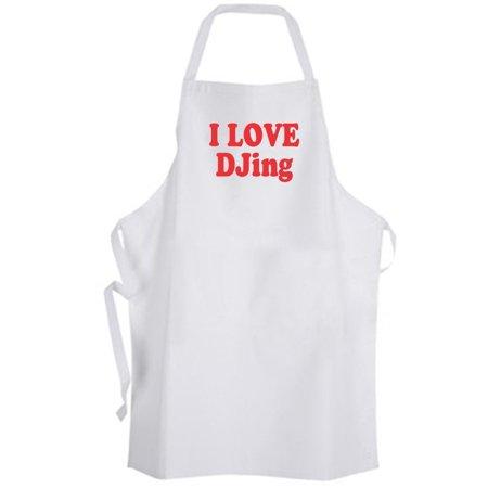 Djing Disc (Aprons365 - I Love Djing – Apron - DJ Disc Jockey Music )