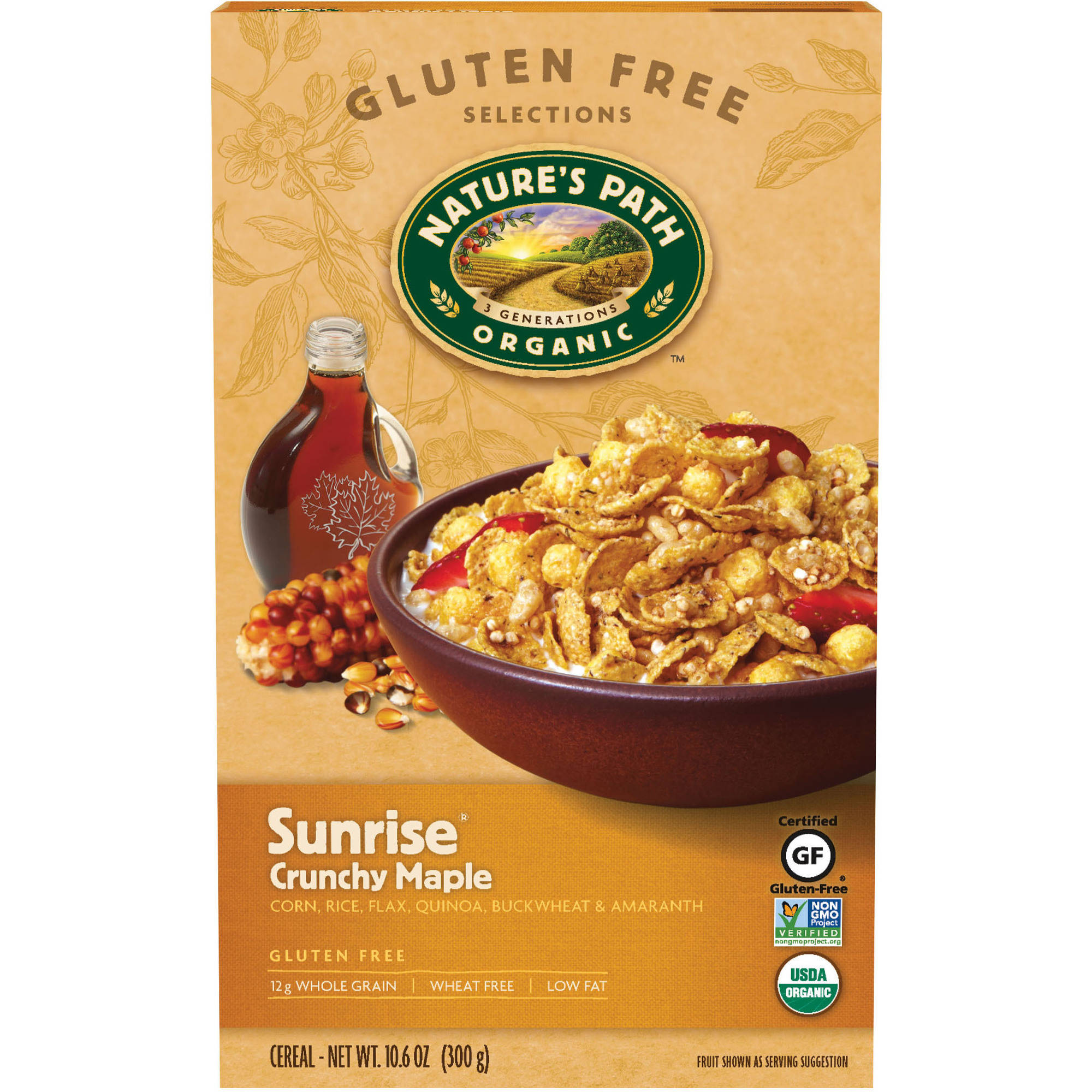 Nature's Path Organic Sunrise Crunchy Maple Cereal, 10.6 oz