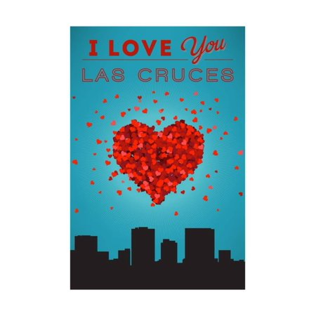 I Love You Las Cruces, New Mexico Print Wall Art By Lantern Press](Party City Las Cruces)