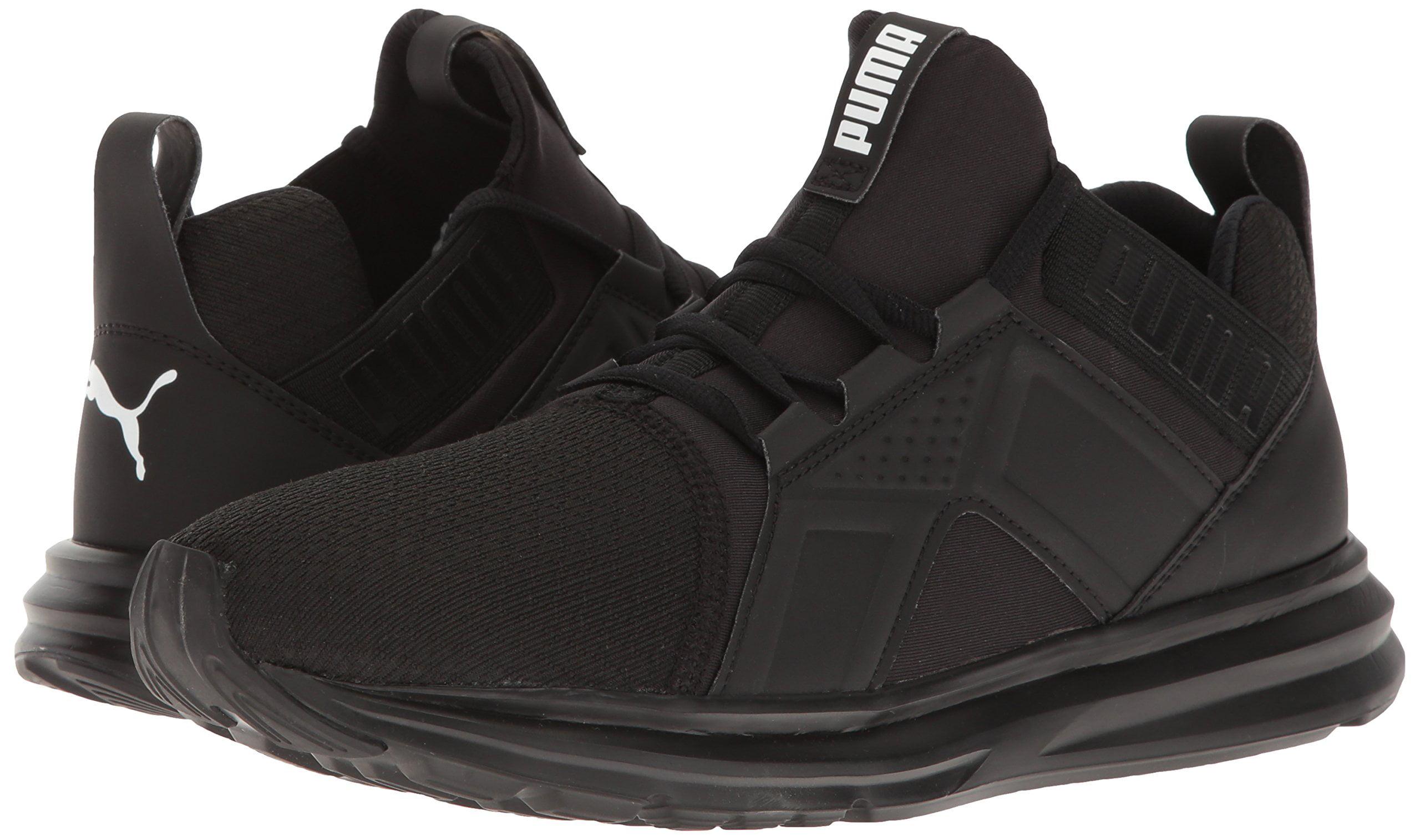 cae40aa02637 PUMA - PUMA 189498-03   Men s Enzo Sneaker Puma Black (9.5 D(M) US) -  Walmart.com
