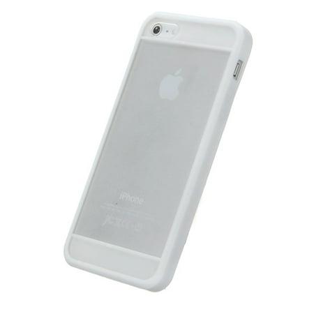 TPU Silicone Rubber Transparent Matte Case Cover Skin Phone Accessories For Phone 5 5S - image 1 de 5