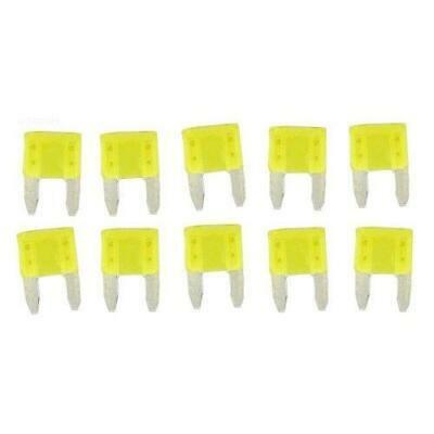 Hayward GLXF20A10PK Fuse Kit, 20A/Yellow, 10/pk - Hayward Fuse