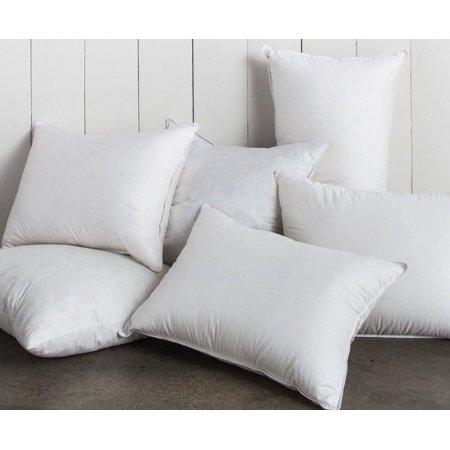 Walmart Pillow Inserts Amazing One 60 X 60 60% Feather 60% Down Pillow Insert Walmart
