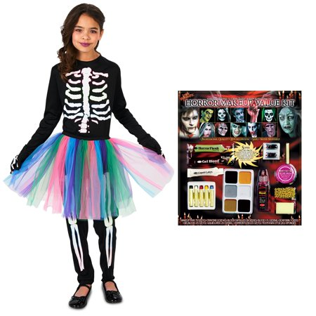 Wholesale Skeletons (Skeleton Tutu Child Costume)