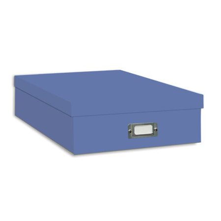 Material Box - Pioneer Jumbo Scrapbook Storage Box, Sky BlueMade from acid free material By Pioneer Photo Albums
