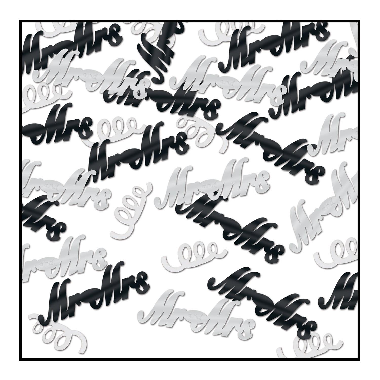 Mr & Mrs Confetti (Pack of 6) - image 1 de 1
