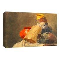 PTM Images,Hidden Red Vase