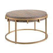Southern Enterprises Sera Reclaimed Wood Coffee Table