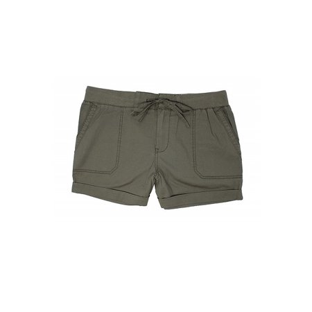 - Khakis & Company Womens Size 16 Stretch Convertible Shorts, Dusty Olive