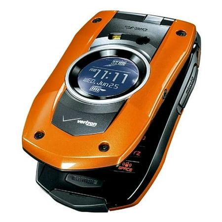PCD Casio C711 GzOne Boulder Replica Dummy Phone / Toy Phone (Orange) (Bulk - Gzone C711 Boulder