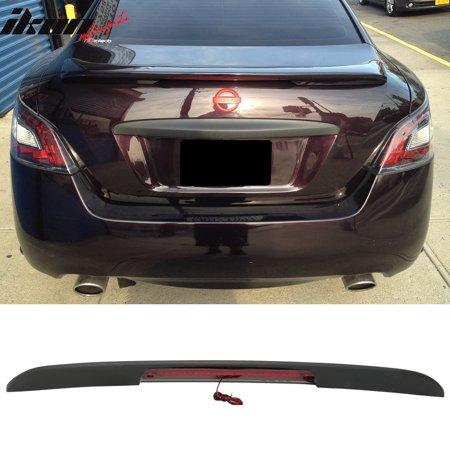 (Fits 09-15 Nissan Maxima A35 4Dr Sedan OE Factory Trunk Spoiler & LED Brake)
